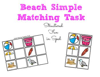 Beach Simple Matching Task