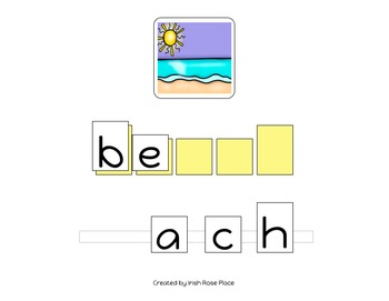 Beach Spelling Books (Adapted Book)