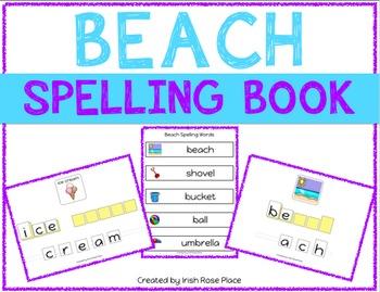 Beach Spelling Books (Adapted Book)