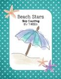 Beach Stars - Skip Counting by THREEs