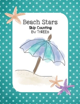 Beach Stars - Skip Counting by THREEs