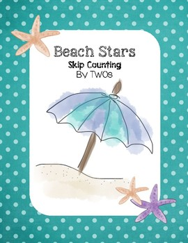Beach Stars - Skip Counting by TWOs