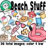Beach Stuff: Summer Clipart