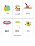 Beach Syllable Sort (1 & 2 syllable words)