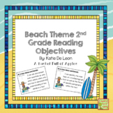Beach Theme 2nd grade reading objectives
