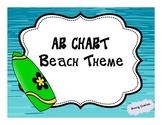 Beach Theme: AR Chart
