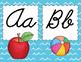 Beach Theme Alphabet Cards