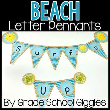 Beach Theme Banners