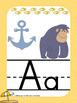 Beach Theme Alphabet Posters