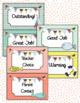Beach Theme Behavior Clip Chart