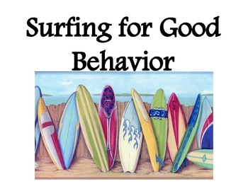 Beach Theme Behavior Management