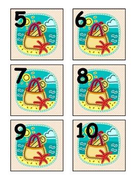 Beach Theme Calendar Set