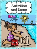 Beach Theme Classroom Decor and Activities