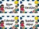 Beach Theme Classroom Helper Cards