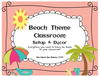 Beach Theme Classroom Setup and Decor