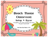 Beach Theme Classroom Setup and Decor