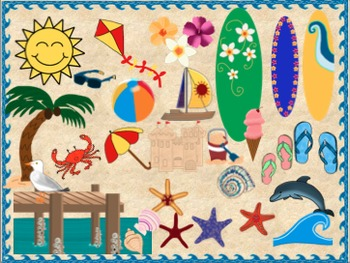 Beach Theme Clip Art