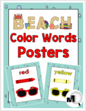 Ocean Theme Classroom Decor ~ Color Word Posters