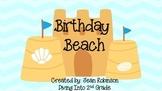 Beach Theme Decor: Birthday Beach