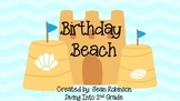 Beach Theme Decor: Birthday Beach
