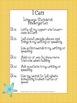 Beach Theme Kindergarten Common Core Lesson Planning Pack