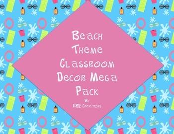 Beach Theme Mega Pack