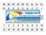 Beach Theme Multiplication Face-Off