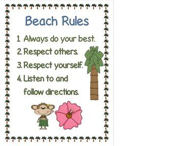 Beach Theme Posters