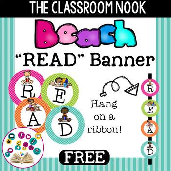 Beach Theme: READ Banner