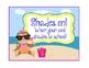 Beach Theme Rewards ~ EDITABLE Blanks! ~ Monkeys ~16 Coupo