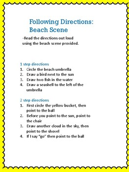 Beach Themed Activities