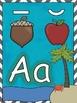 Beach Themed Alphabet Cards!