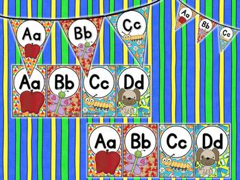 Beach Themed Alphabet Posters & Pennants
