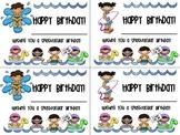 Beach Themed Birthday Cards