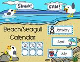 Beach Themed Calendar Set