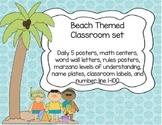 Beach Themed Chic Classroom Set