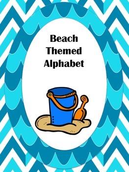 Beach Themed Classroom Alphabet