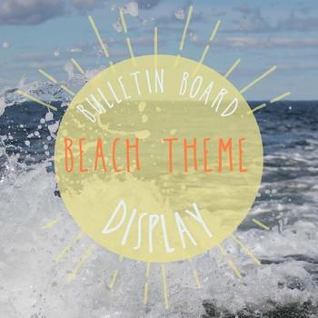 Beach-Themed Classroom Display