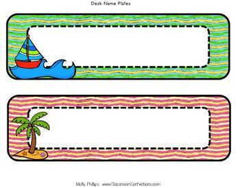 Beach Classroom Decor: Beach Themed Classroom Decor: Beach Decor