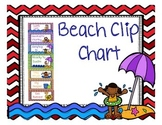Beach Themed Clip Chart 17-18