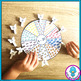 Beach Themed Counting Wheel Clip Cards - Numbers 1 - 20