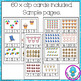 Beach Themed Counting to 20 Clip Cards and Worksheets