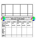 Beach Themed Homework and Behavior Chart