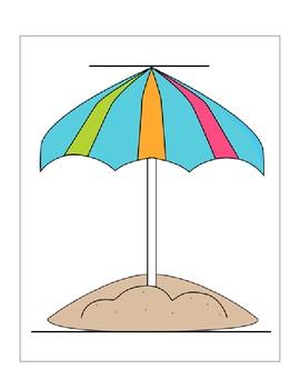 Beach Themed Non-Standard Measurement