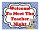 Beach Themed Open House, Back To School, Or Meet The Teacher Sign Kit