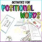Positional Words Activities
