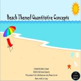Beach Themed Quantitative Concepts