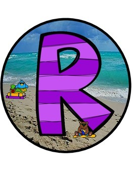 """Beach Themed """"READ"""" Sign ~ FREE"""