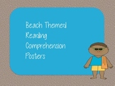 Beach Themed Reading Posters