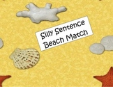 Beach Themed Sentence Comprehension Match Center